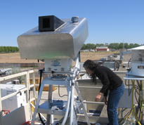 WSU undergrad Mary Capiral is gaining research experience by 